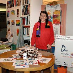 A day as an artist – Wearable art fashion in Rome, Daniela