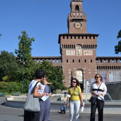 foodies castello sforzesco